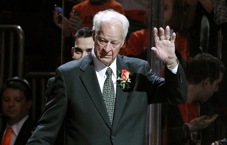 Скончался легендарный канадский хоккеист Горди Хоу