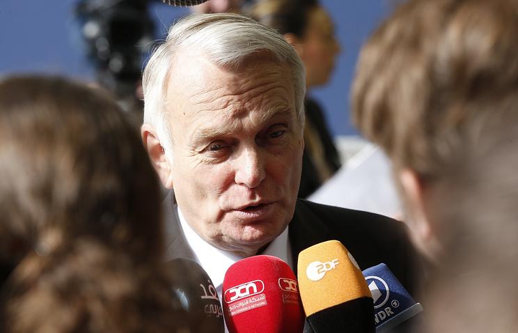 Глава МИД Франции Жан-Марк Эйро
