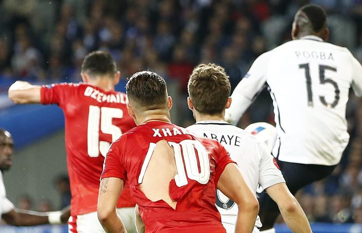 Пума разбирается винциденте спорванными футболками сборной Швейцарии наЕвро