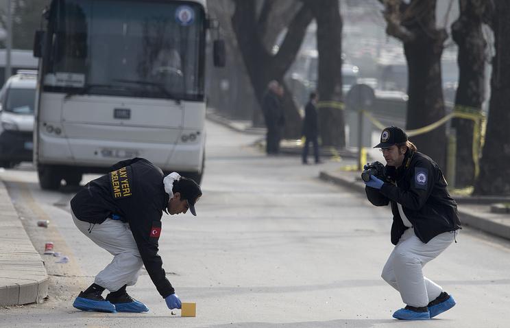 ВТурции число пострадавших при взрыве машины выросло до 12 человек