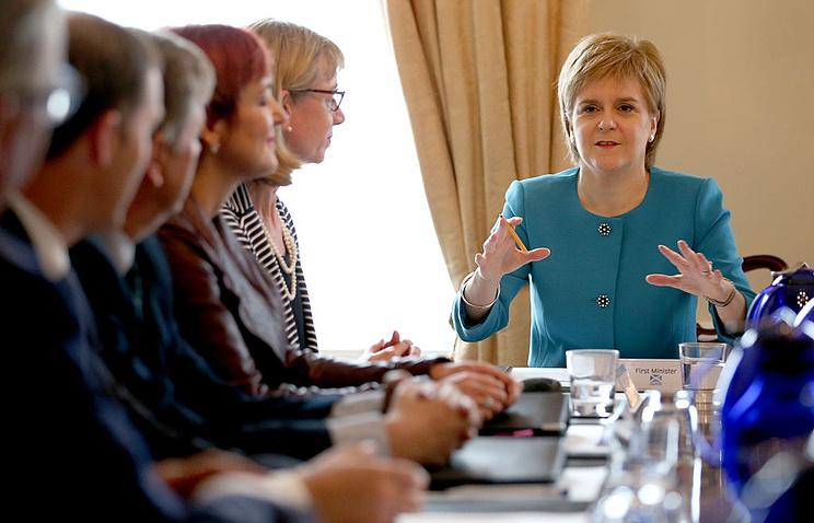 Шотландия желает остаться вЕС иснова готовится креферендуму онезависимости