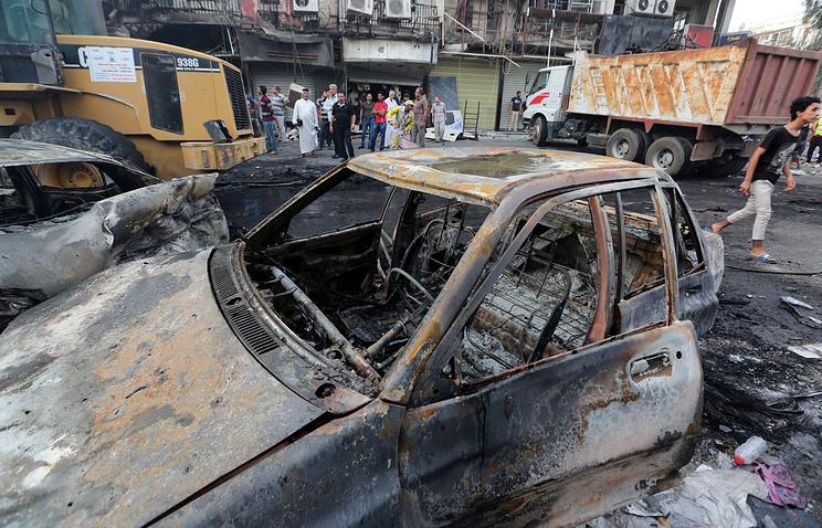 Трехдневный траур пожертвам теракта объявили вИраке