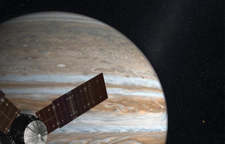 РФпланирует доставить свои спутники кЮпитеру в 2032г.