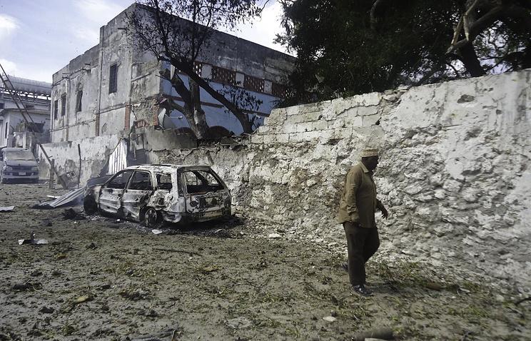Как минимум 7-ми человек погибли при взрывах встолице Сомали