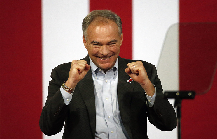 Съезд демократов утвердил кандидата ввице-президенты навыборах