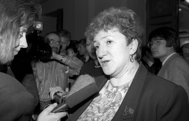 Галина Старовойтова 1992 год