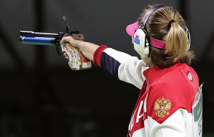 Россиянка завоевала серебро Олимпиады встрельбе изпистолета