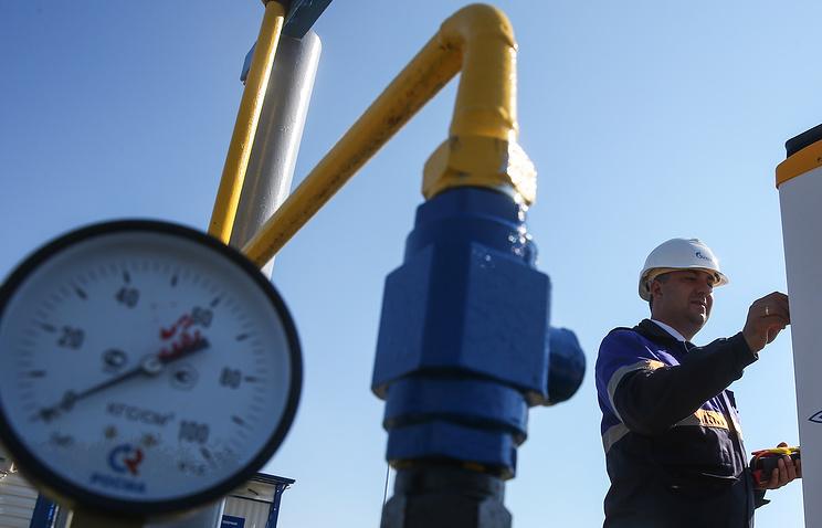 Губернатор Пермского края запустил газ вУинском районе