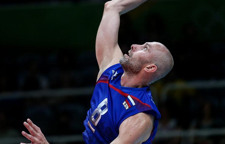 Волейболисты Тетюхин иВербов завершили выступление засборную
