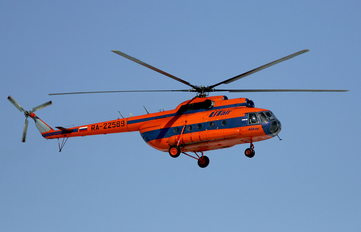 Вертолет Ми-8 невышел насвязь вКрасноярском крае