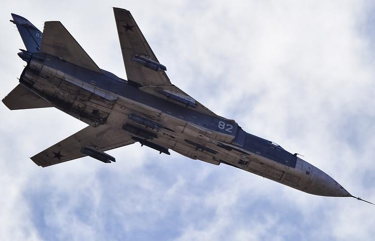 РФ неожиданно перебросила вКрым бомбардировщики Су-34