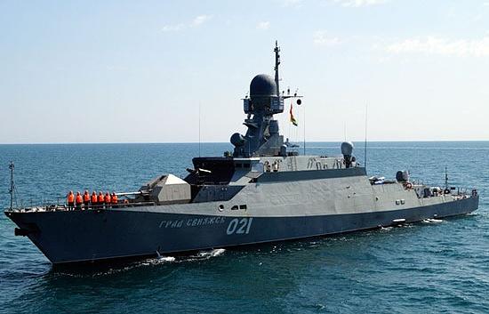 ВМФ получит новые ракетные корабли «Буян-М»