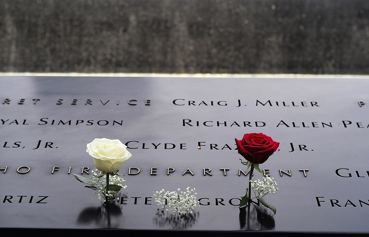 ВСША вспоминают жертв терактов 11сентября