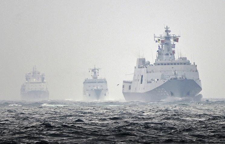 Морские учения с Китайская народная республика ведутся воборонных целях— Вице-адмирал Федотенков