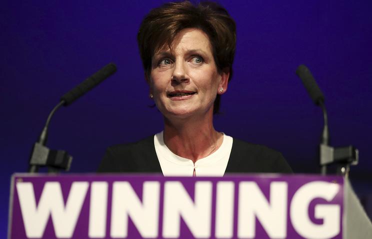 Лидером английской партии UKIP стала представительница бизнеса Диана Джеймс
