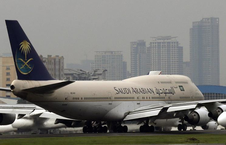 Пилот самолета Saudia Airlines запросил помощи всвязи свозможным угоном