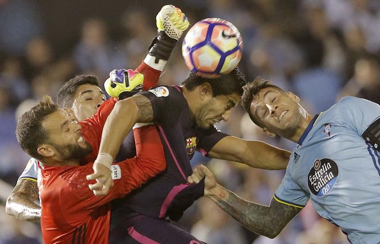 «Сельта» победила «Барселону», забив в ее ворота 4 мяча