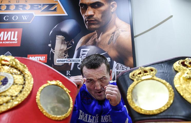 Боксер Лебедев проведет защиту титулов 3декабря в столице России