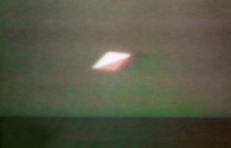 Внебе над Женевой пролетел НЛО