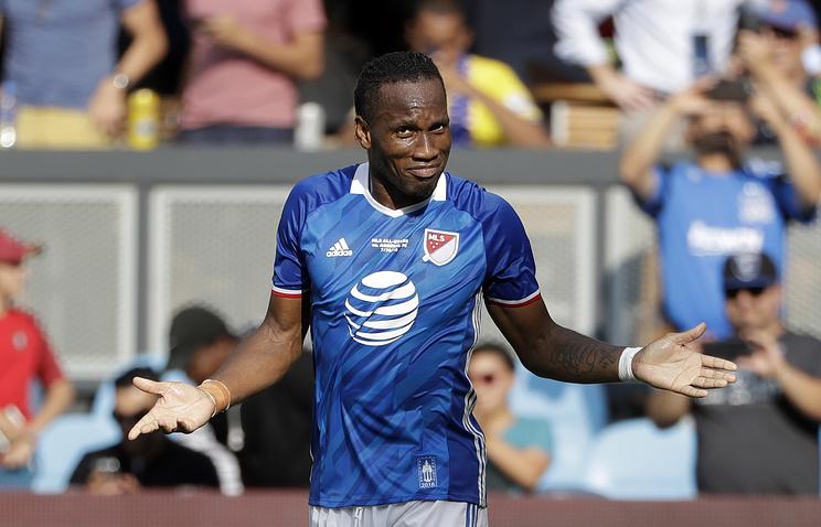 Дрогба оштрафован заотказ играть вматче MLS