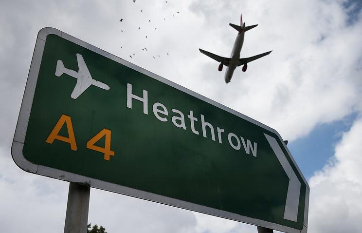 Британские власти одобрили решение расширить аэропорт Хитроу