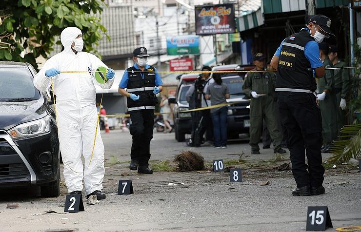 Наюге Таиланда в итоге нападений боевиков убиты трое