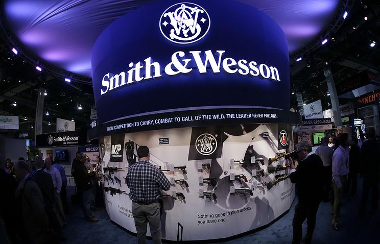 Производитель оружия Smith & Wesson впервый раз за146 лет сменит название