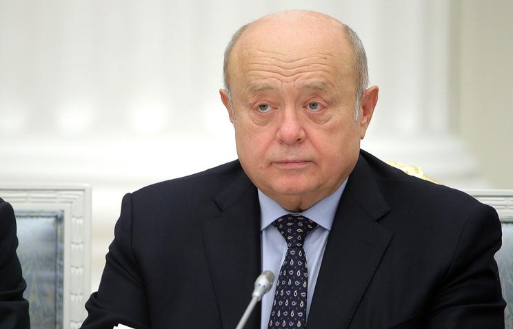 Фрадков стал главой совета начальников «Алмаз-Антея»