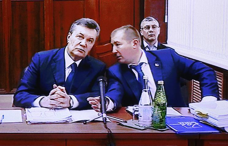 Допрос Януковича: защита экс-президента винит полицию столицы Украины вхалатности