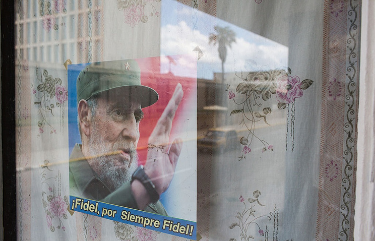 НаКубе началось прощание сФиделем Кастро