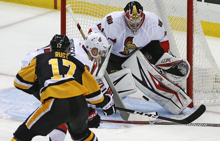 НХЛ: Кросби возглавил гонку снайперов, Малкин— третий среди бомбардиров