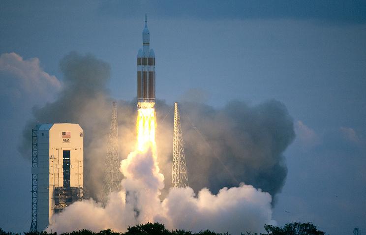 Смыса Канаверал стартовала ракета соспутником для Минобороны США