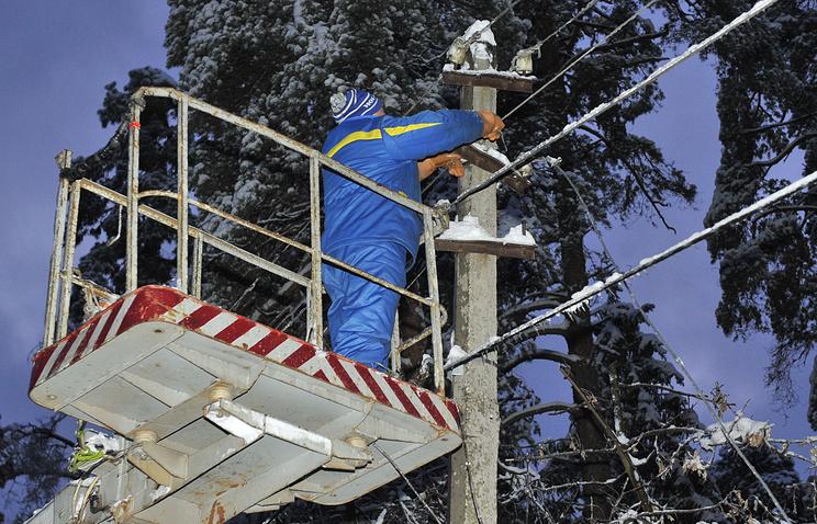 Наюге Российской Федерации бушует непогода: практически 230 тыс. человек остались без света