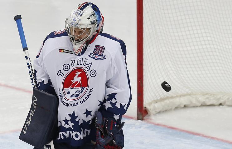 Игрок «Торпедо» Илья Проскуряков признан лучшим голкипером недели КХЛ