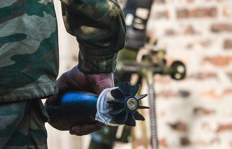 Военные силы Украины ведут обстрел врайоне села Логиново