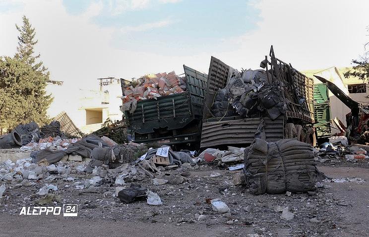 Стали известны выводы отчета ООН понападению нагуманитарный конвой вАлеппо