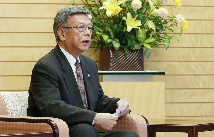 США иЯпония достигли соглашения поамериканской базе наОкинаве