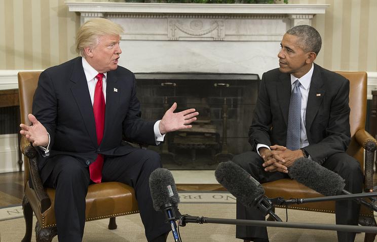 Трамп обвинил Обаму впрепятствовании гладкой передаче власти