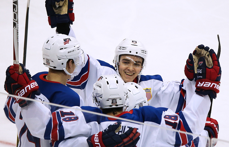 Русская молодежка разнесла Данию ивыкатилась вполуфинал чемпионата мира