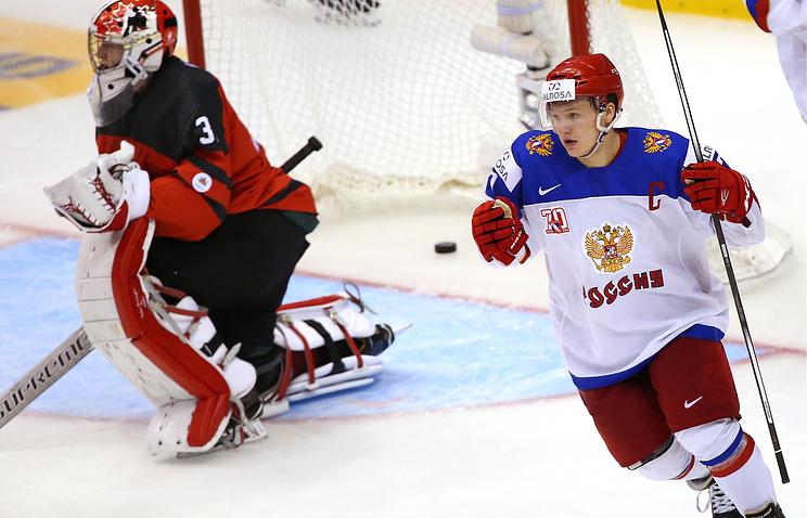 Лучшим игроком чемпионата мира среди молодежи стал русский хоккеист