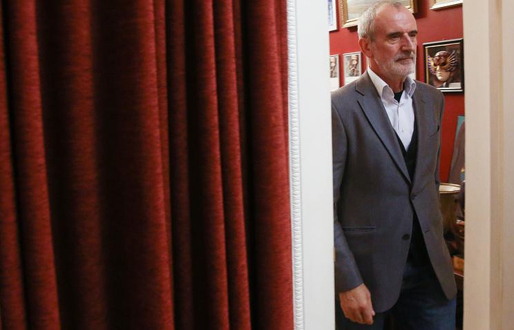 Мэр столицы поздравил Римаса Туминаса сюбилеем