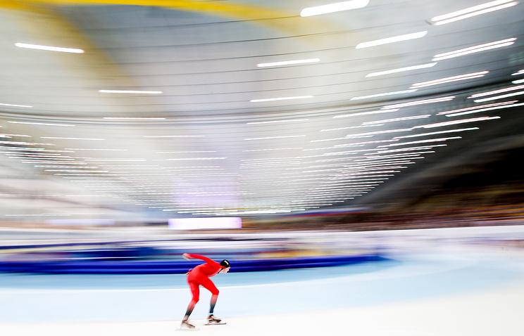 Алтайский конькобежец взял «золото» Кубка мира