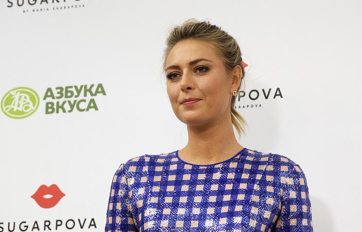 Мария Шарапова получила wild card для участия втеннисном турнире вМадриде