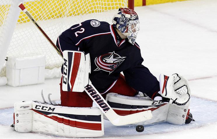 Вматче НХЛ «Коламбус Блю Джекетс» дома проиграл «Рейнджерс»