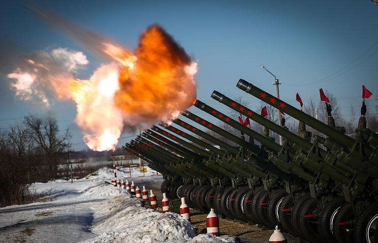 Артиллеристы ЦВО проведут салюты вЕкатеринбурге, Самаре иНовосибирске 23февраля