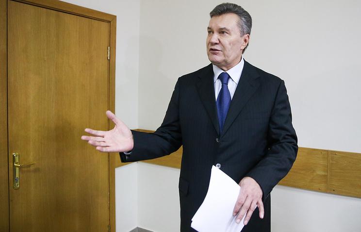 Янукович: янепросил вводить войска вгосударство Украину