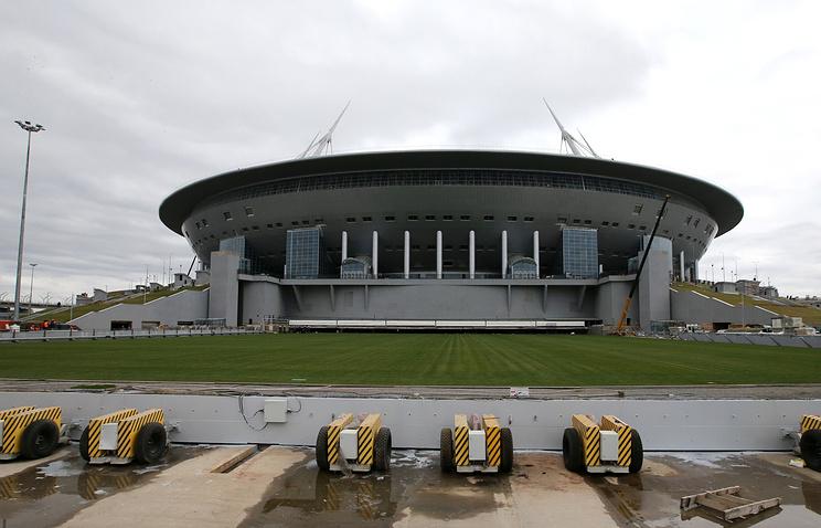 Мутко непротив продажи имени нового стадиона вПетербурге