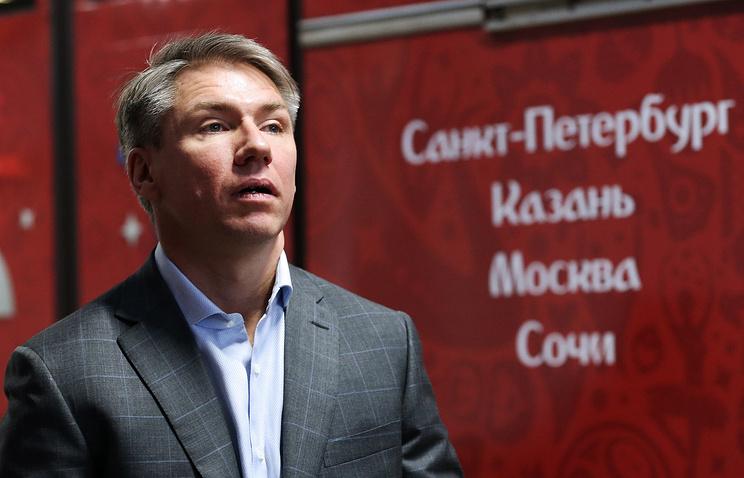 Мутко предложил воплотить название стадиона наКрестовском