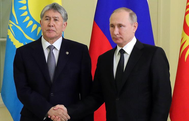 Атамбаев: Назло всем некоторым данным мы, вступив вЕАЭС, сделали безусловно правильно