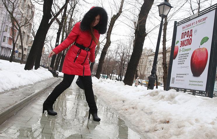 1-ый день весны в столицеРФ стал самым теплым сначала года